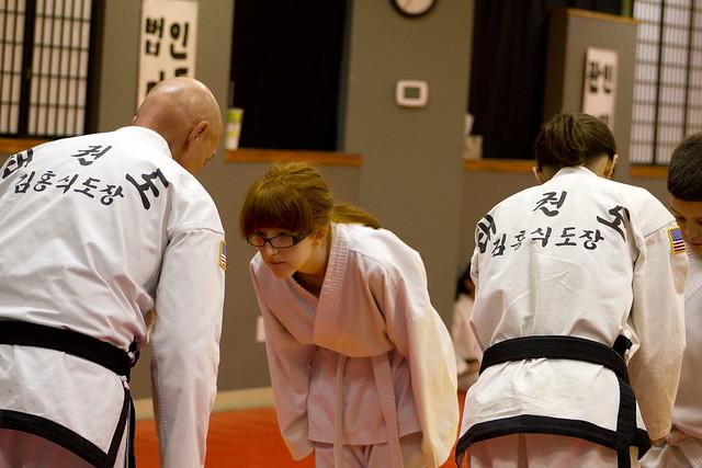 Tae Kwon Do Testing