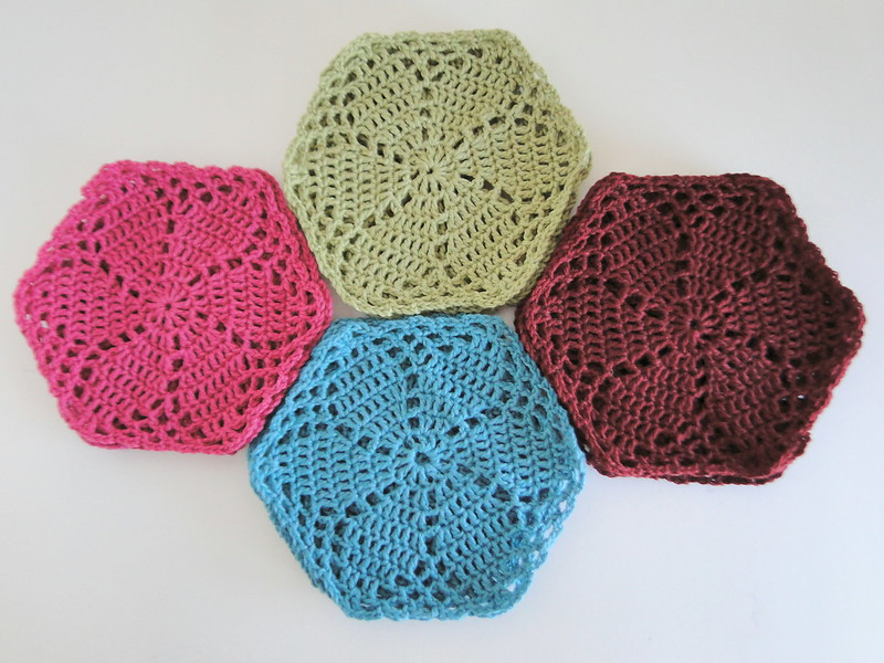 lacy hexagons