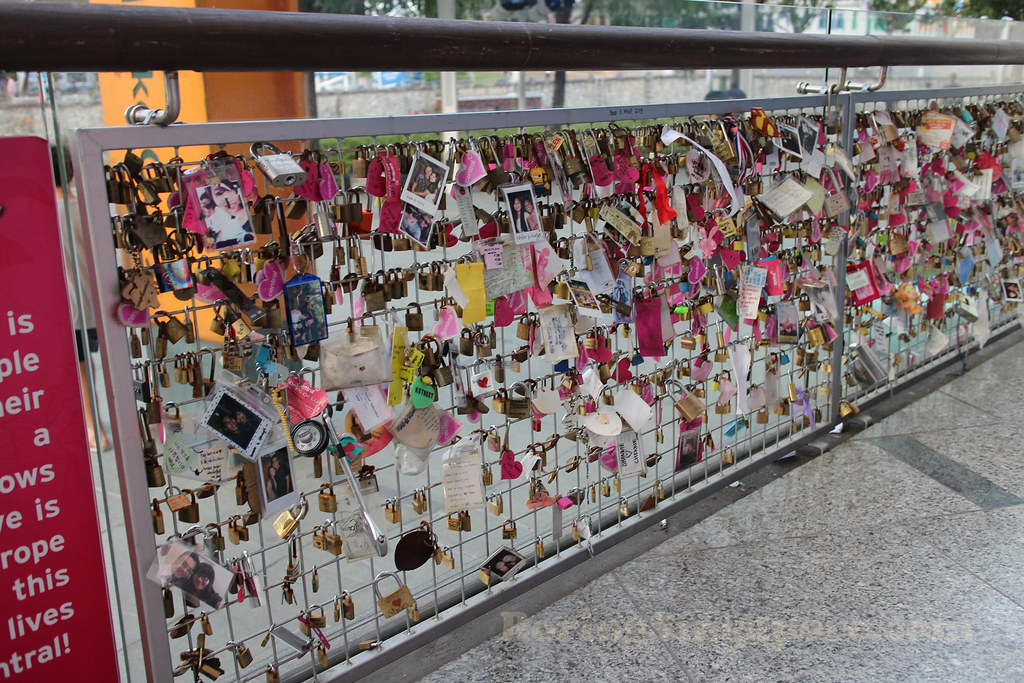 Locks of Love, Singapore - Clarke Quay