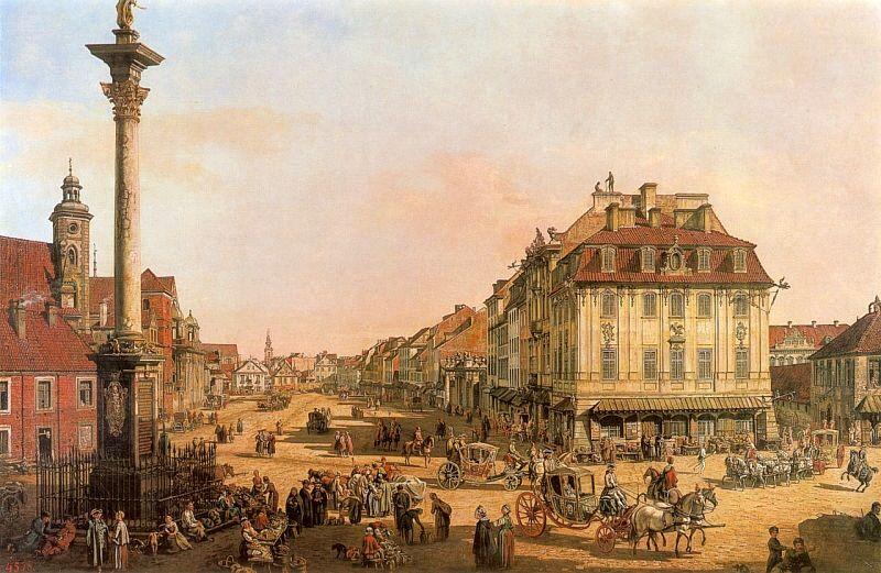 十八世纪华沙风景画2