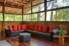 Leather Sofa Jungle House by Joe Gatto Costa Rica