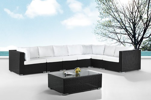 modular outdoor deep seating patio furniture