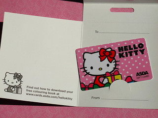 Asda exclusive Hello Kitty gift card