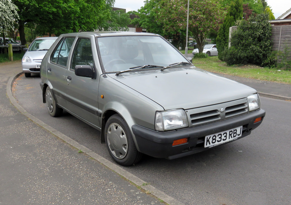 1992 nissan micra 1.2 lx (k10)   not one i can recall seeing…   flickr