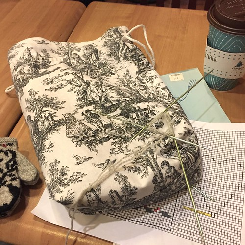 Iron Craft '16 Challenge #9 - Drawstring Project Bag