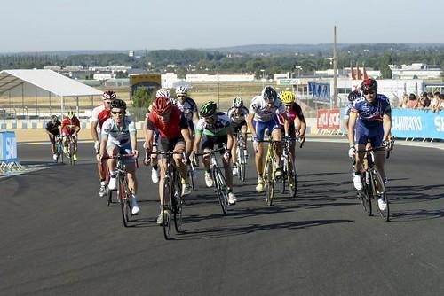 51e championnat de France de cyclisme des Journalistes UJSF-FFC, au Mans