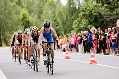 Jitka Rudolfová a Jan Čelůstka vyhráli druhý díl triatlonového ČP vPříbrami