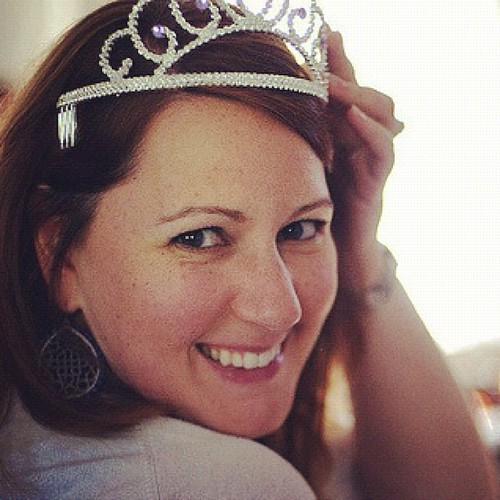 I wish I could wear a tiara everyday. #febphotoaday