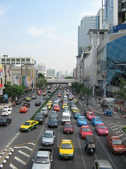 metropolitan area, highway, traffic, vehicle, transport, road, public transport, urban area, cityscape, lane, residential area, overpass, city, downtown, traffic congestion, street, infrastructure,