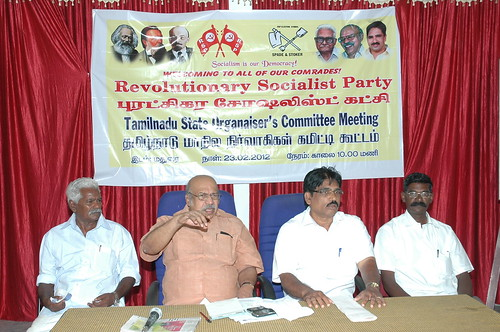 RSP All India General Secretary T.J Chandrachoodan and Tamilnadu State Convener Dr.A.Ravindranath Kennedy M.D(Acu).,attended the State Organaiser`s Committee Meeting at Madurai... 64 by Dr.A.Ravindranathkennedy M.D(Acu)