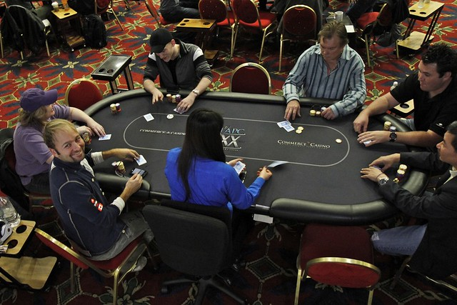 4993 Featured Table Daniel Negreanu Kathy Liebert Jason Somerville