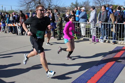 Crossing the Half-Marathon Finish Line