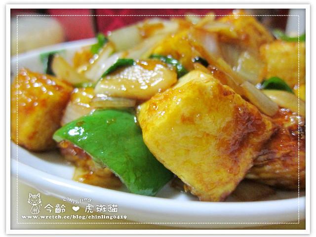 醬燒芙蓉豆腐