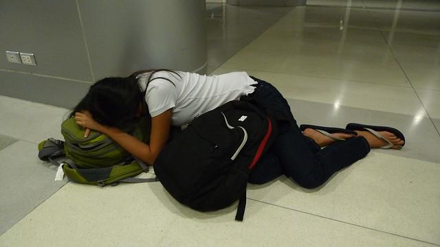 Sleepy Traveler
