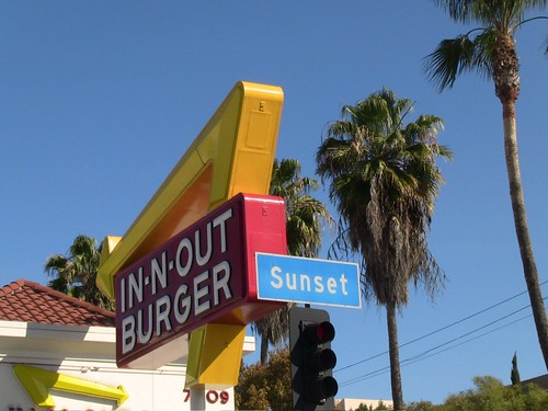 In-N-Out on Sunset