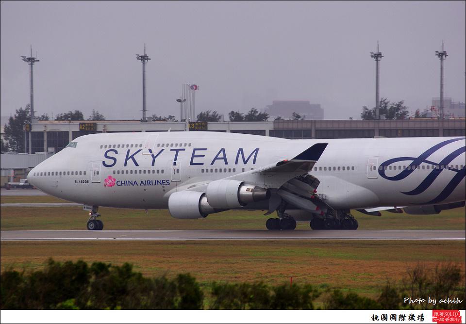 中華航空B-18206客機018