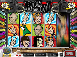 Rock On Slot Machine