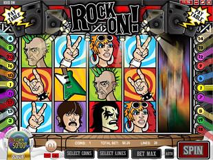 Rock On Slot Machine