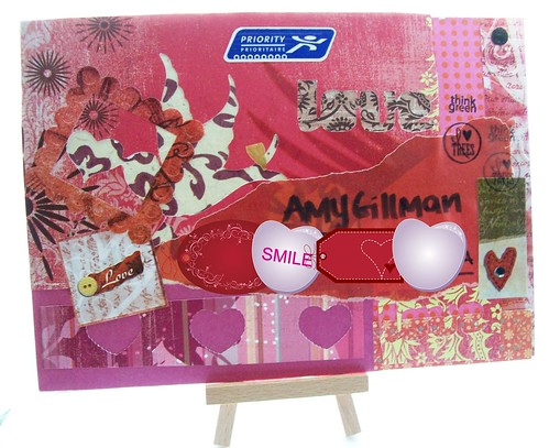 mail art 365-049 front by Miss Thundercat