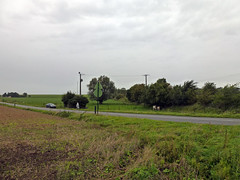 View NW to the railway line