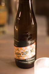 Course 2 paired with Saison Dupont