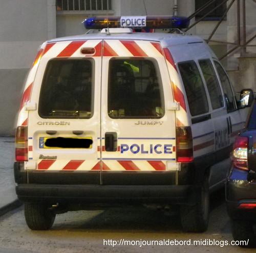 Voiture Police Citroën Jumpy 01