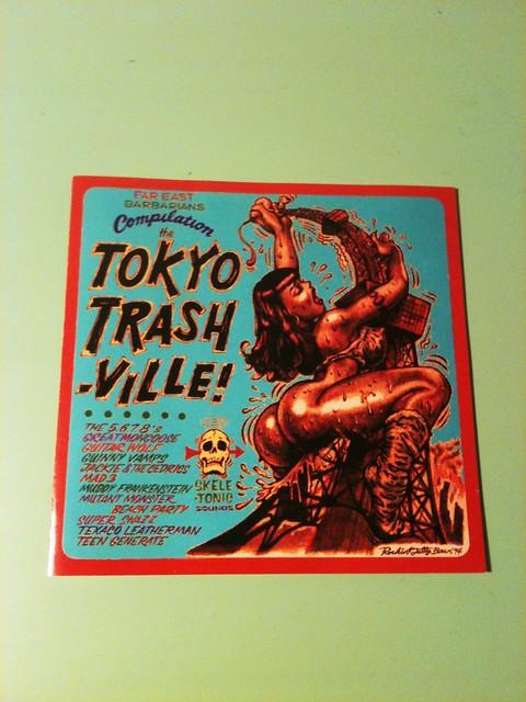 Tokyo Trashville CD Booklet