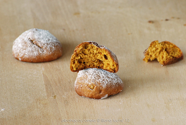 Pumpkin soft cookies