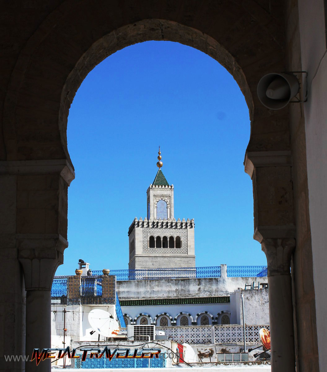 The Medina The Old Town Of Tunis Tunisia Metal Traveller