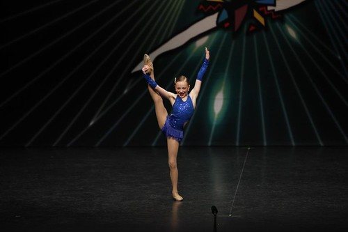 Leah's first dance solo competition...age 9