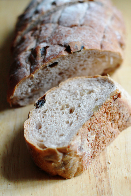Walnut & Raisins Bread from A1 Bakery Hong Kong