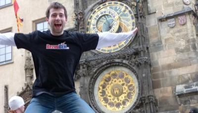 Petr Jorníček doběhl jako první do cíle naší první cesty kolem světa