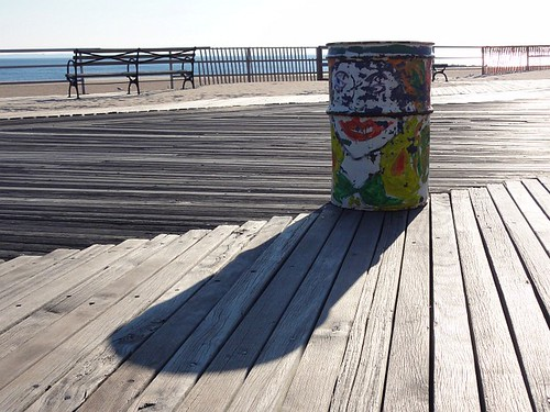 Coney Island Boardwalk Bin