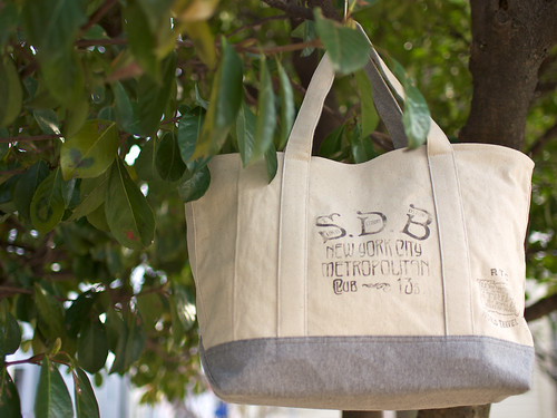 Riding High / Canvas Tote Bag