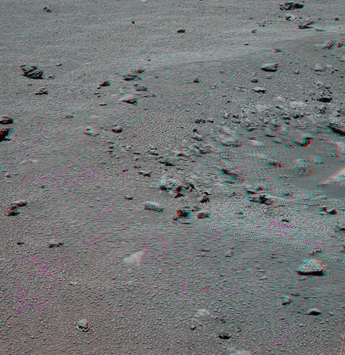 OPPORTUNITY sol 1160 anaglyph local fields