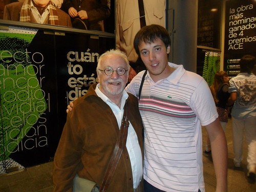 Julián López con Pepe Soriano