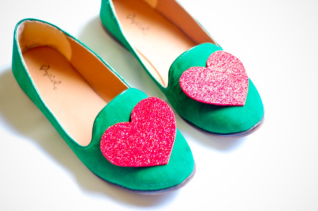 Hearts On MY Shoes