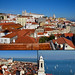 Lisbon views - sightseeing Alfama and Tejo