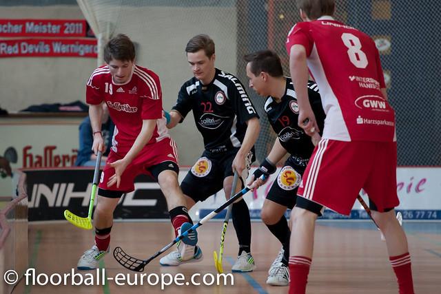 1. FBL - Red Devils Wernigerode - MFBC Löwen Leipzig - 17.03.2012