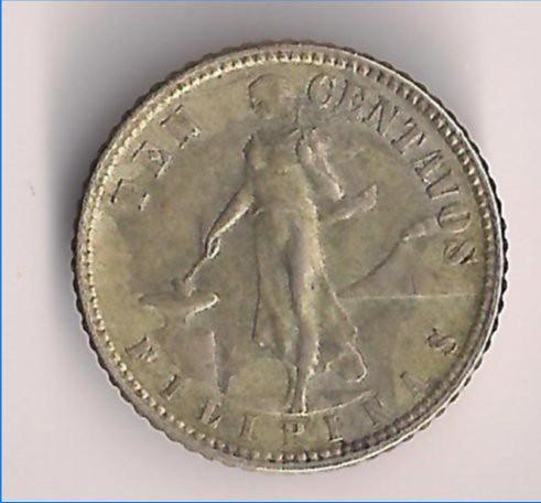 Coin - US Phil - 10 Centavo - 1945 C 01