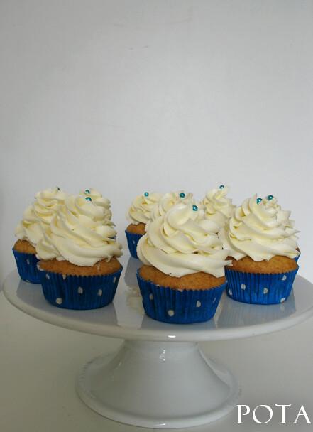 Cupcakes à la Vanille et Swiss meringue buttercream