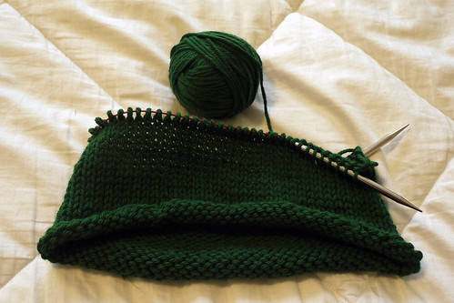 Knitting Adam's Hat