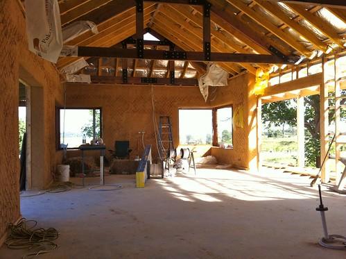 Living Room takes shape