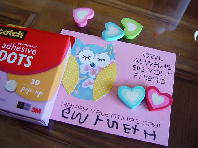 Owl Valentine 6