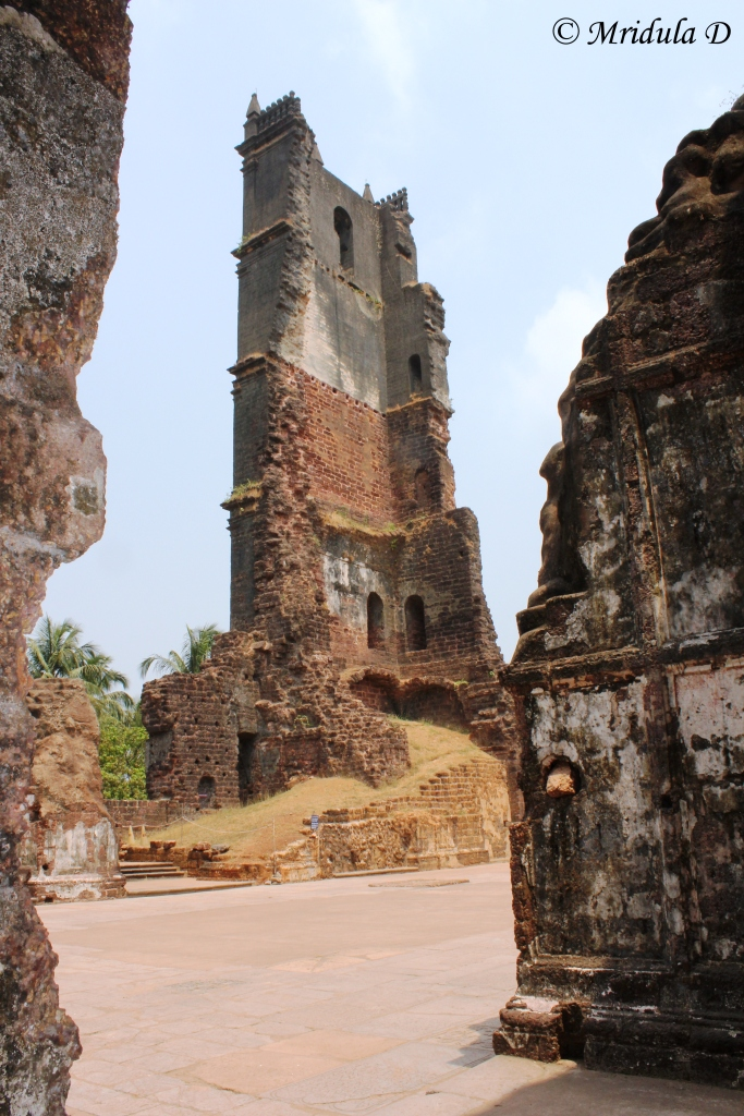 Ruins of the St Augustine Complex, Goa, India