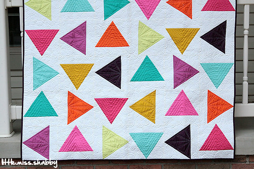 Triangle Toss--McCall's Quilting