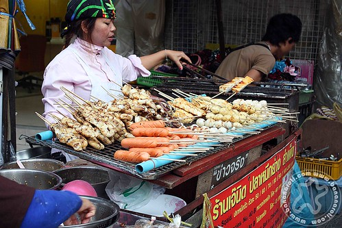 Street Foods in Chinatown of Bangkok