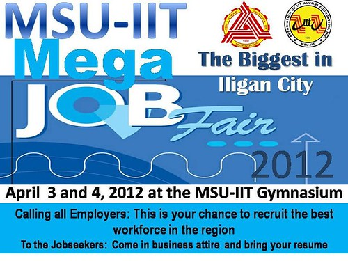 MSU-IIT Job Fair Iligan City