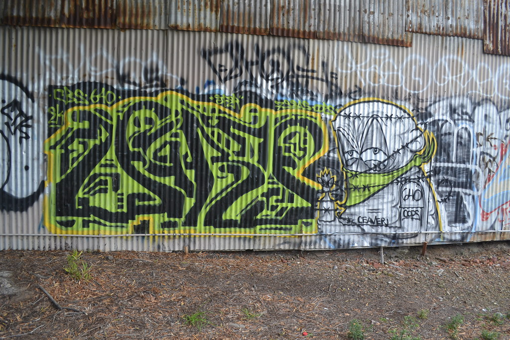 AURA, LOGO, EK 640, CBS, PTV, Graffiti, the yard, Oakland,