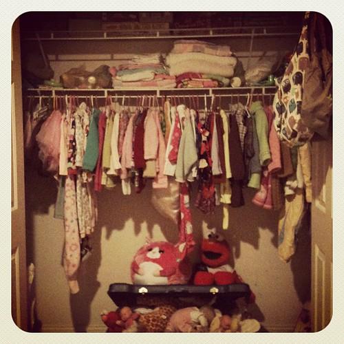 Proyecto foto diaria: closet